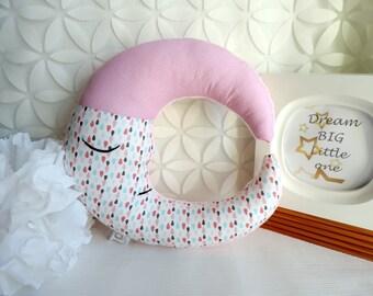 Moon Pillow - Moon Cushion - Decorative Pillow - Nursery Pillow - Moon Stuffed - Baby Shower Gift - Children Room Decor - Kids pillow - Gift