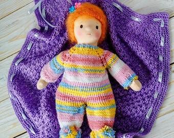 Waldorf baby doll Bonnie Blueberry