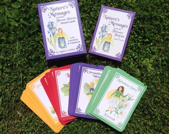 Nature's Messages from the Flower Fairies Oracle cards by Angela Crutchley