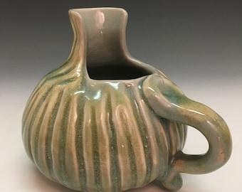 Porcelain Ewer/Pitcher with Celadon glaze