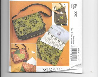 McCall's M5824 - Laptop Bag and Cover