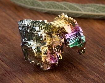 Rainbow Bismuth | Bismuth | Element 83 | Bismuth Crystal