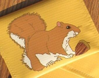 Squirrel Coin Purse--Eco Friendly