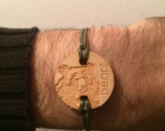 Bearz bear Bracelet Necklace - Moon bear