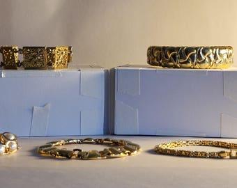 Vintage Lot of 6 Bracelets