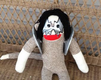 Sock Monkey Doll, KISS, Ace Frehley