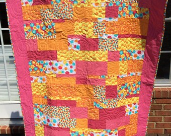 Bright Modern Lap Quilt