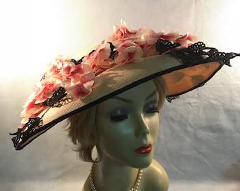 Vintage 1940/50's Laddie Northridge Wide Brim Hat