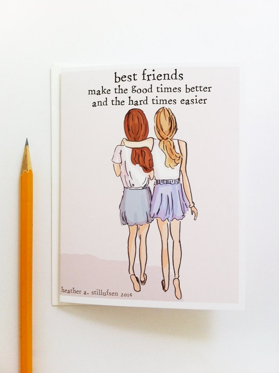 Miss You Card Best Friends Card Bon Voyage Card Miss You