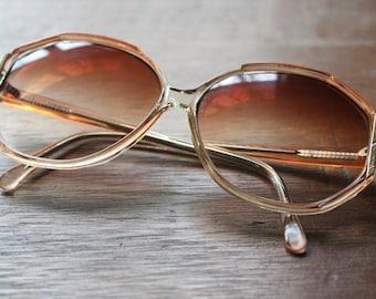 Vintage Rose 70s/80s Frames Retro Eyeglasses Sunglasses Eyewear