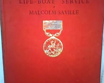 Vintage The Adventure of the Life-Boat Service - Malcolm Saville - 1950