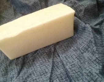 Rectangular Scented Goat's Milk Soap, Geranium Scented Soap, Goats Milk Soap, Ready to Ship