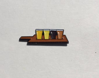 Beer Flight Enamel Pin