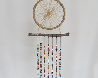 Nature Inspired Colorful Dreamcatcher