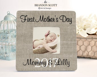 Mother's Day Gift, Mother's Day Frame, First Mother's Day, New Mom Gift, New Mom Picture Frame, 1st Mothers Day Photo Frame