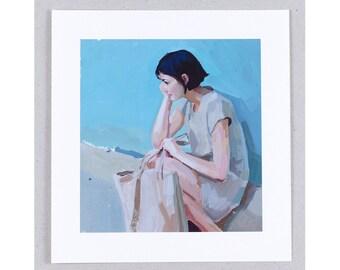 Giclée Print - Silent Contemplation - free shipping worldwide