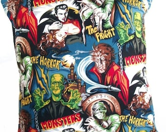 Classic Movie Monsters Cushion