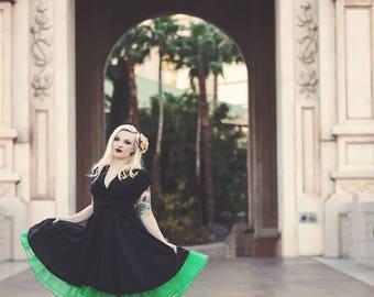 Little Black Infinity Convertible Dress ... LBD  Retro Dress  ... 37 Colors... Viva Las Vegas, Pinup, Maternity Dress, Bridesmaids Dress