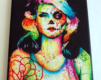 Blondie | Limited Edition | Canvas | 8x10 Inches