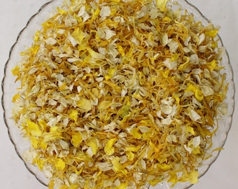 Biodegradable Confetti, Dried Natural Petals, SUNSHINE BLEND