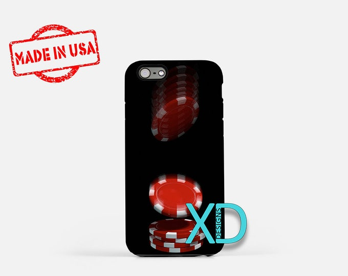 Poker Chips iPhone Case, Poker iPhone Case, Poker Chips iPhone 8 Case, iPhone 6s Case, iPhone 7 Case, Phone Case, iPhone X Case, SE Case