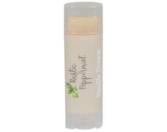 Natural Lip Balm, Vegan Lip Balm, Lip Balm, Vanilla Lip Balm, Organic Lip Balm
