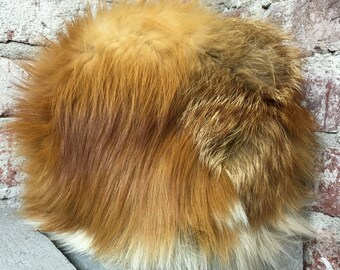 Vintage 40s 60s 70s Fox Fur Hat