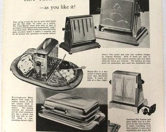 App 155  Hot Toast    Magazine Ad - March 1935