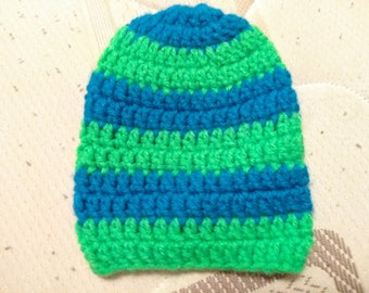 Crochet baby hat #5