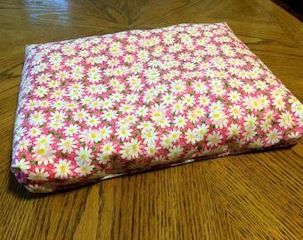Squishy Sensory Seat - cute pink daisy patterned cushion