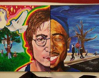 Lennon & Pac Prints