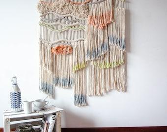 Espirit Cabane macrame wallart by Ranran Design
