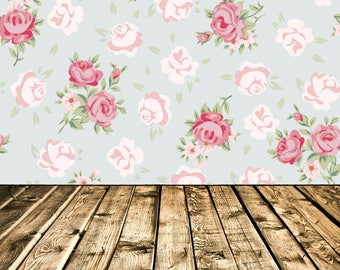 160cmx300cm  Photography Backdrop - Flowers
