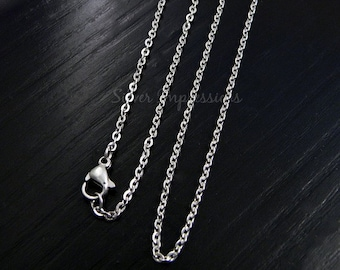 Locket Chain Upgrade / Cable Chain / Floating Locket Chain