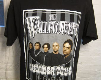 Size XL (46) ** 1997 The Wallflowers Concert Shirt (Double Sided)