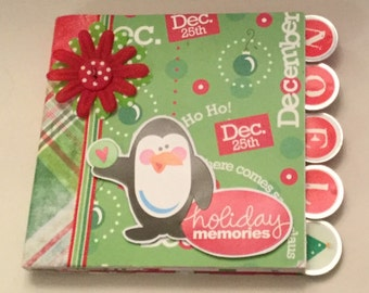 Holiday Chipboard 6 x 6 album