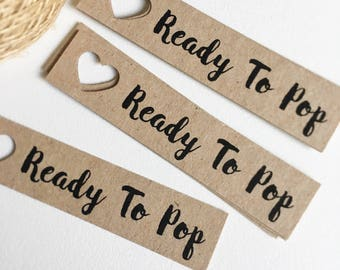 Ready To Pop Baby Shower Tags Pk10