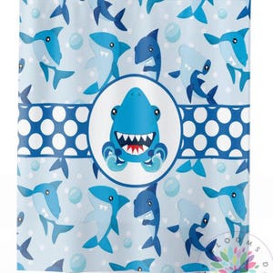 Shark Shower Curtain Shark Boy Bathroom Fish Shower Curtain Boy Shower  Curtain Mat Shark Bathroom Decor