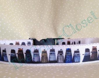 Dr Who Dalek Design Unofficial Dog Collar