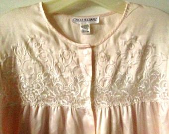 Carole Hochman Pink Nightgown L