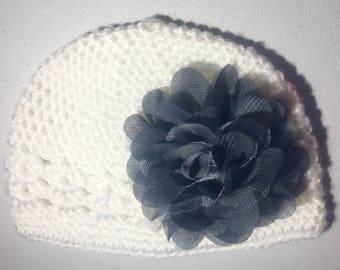 White Crochet Hair
