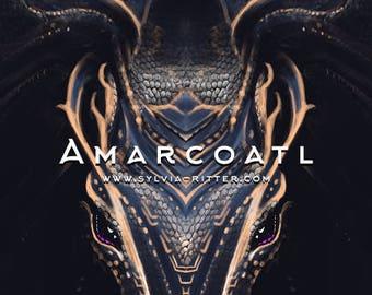 Amarcoatl - Signed Giclée Print