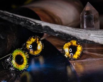 Weird Rings - Yellow Eyed Monster
