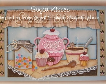Sugar Kisses - Elisabetta Mariani, Painting With Friends E Pattern