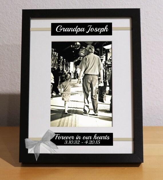 In Loving Memory, Personalized Frame, Custom Frame, FOREVER in OUR ...