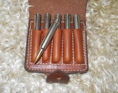 Leather cartridge case...