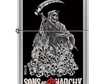 Sons Of Anarchy Pile Of Skulls Zippo Lighter