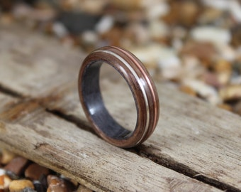 Wood engagement ring Etsy