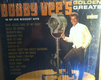 Bobby Vee's Golden Greats Vinyl Pop Record Album