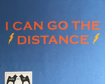 I Can Go The Distance - Disney's Hercules inspired t-shirt